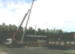 44 Ton Hiab Crane Truck - With Cab Mounted 9 Ton Lorry Crane Lift