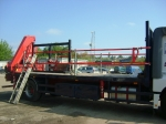 18 Ton Crane Lorry Loader -  4 Wheeler Lorry Cranes For Hiab Hire