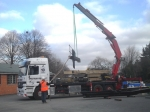 Civils and construction - our hiab lorry cranes work on a variety of construction sites & civil engineering projects