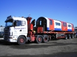 Rail industry haulier and crane truck supplier